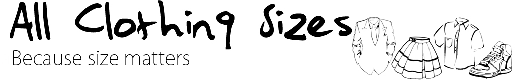 All Clothing Sizes logo